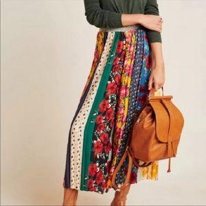 ANTHROPOLOGIE RD & koko Multicolored Skirt L